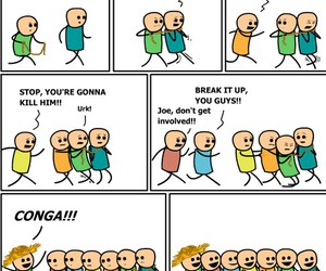 funny, conga, and lol image