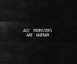 monster, human, and background image
