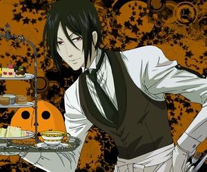 anime, food, and sebastian image