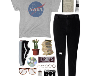 fashion, Polyvore, and outfit image