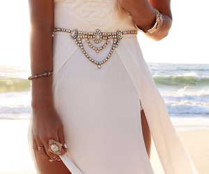 accessories, white, and beach image