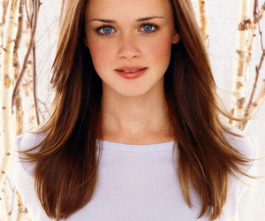 gilmore girls, alexis bledel, and hair image