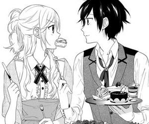 manga, horimiya, and anime image