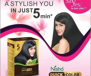 hair color, organic hair color, and henna based hair color image