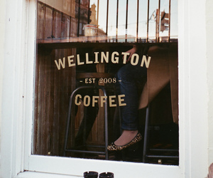 coffee, brown, and street image