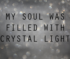 text, light, and soul image