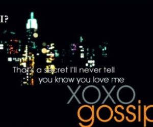 gossip girl, xoxo, and gg image