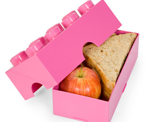 lego, food, and pink image