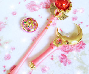 pink, sailor moon, and anime image