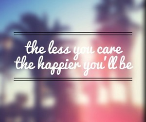 quotes, happy, and care image