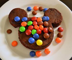 food, chocolate, and disney image
