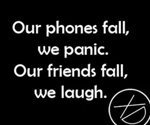 friends, phone, and funny image