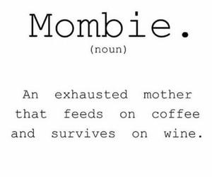 coffee, dictionary, and mom image