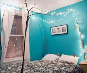 blue, turquoise, and roomspiration image