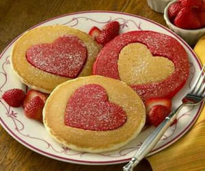 breakfast, valentines, and food image