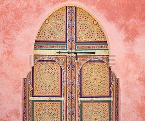 architeture, door, and indian image