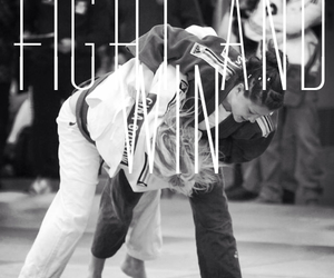 fight, judo, and sport image