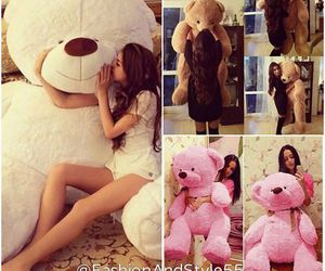 Beautiful Girls, big teddy bear, and what girls want image