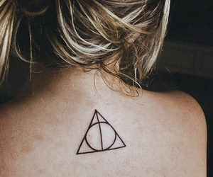 deathly hallows, harry potter, and fashion image