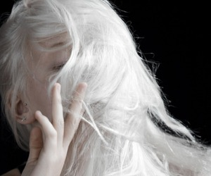 beauty, hair, and pale image