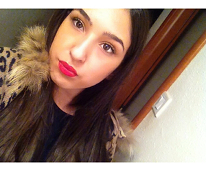 mac, red lips, and makeup image