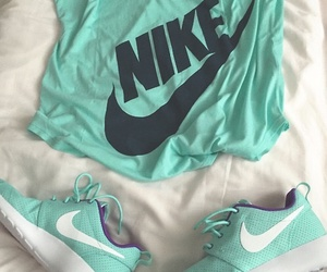 fitness, nike, and t-shirt image