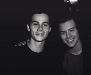 Harry Styles, dylan o'brien, and harry image