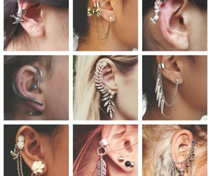 ear, girl, and girly stuff image