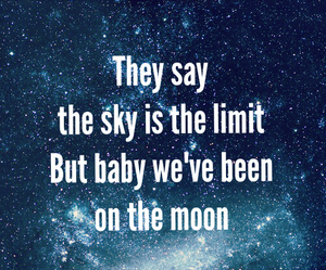 Lyrics, sky, and dream big image