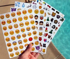 sticker, emoji, and emojis image