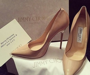 heels, Jimmy Choo, and shoes image