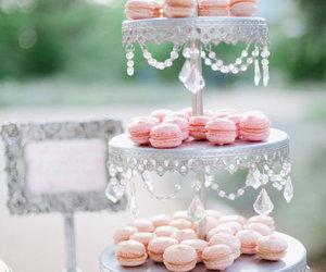 dessert, food, and macaroons image