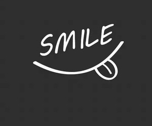 smile, wallpaper, and black image