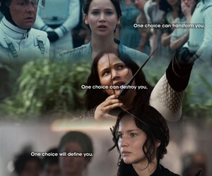 Jennifer Lawrence, the hunger games, and katniss image