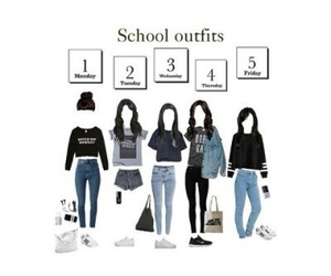 school and fashion image