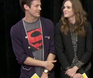 danielle panabaker, the flash, and barry allen image