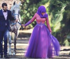 couple and hijab image