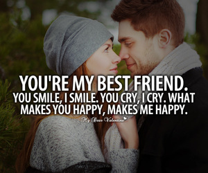 love, happy, and best friends image