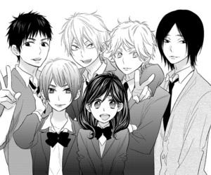 manga, anime, and watashi ga motete image