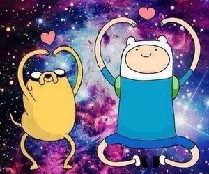 cosmos, backround, and adventure time image