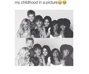 high school musical and childhood image