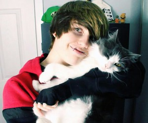 jeydon wale, cat, and cutie image