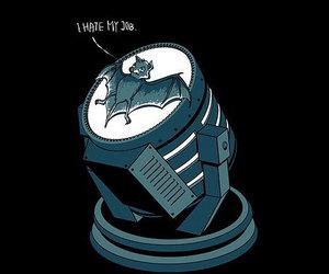 batman, job, and cute image