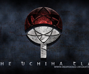 naruto and uchiha clan image