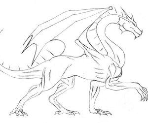 art, dragon, and diy image