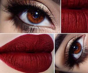 eyes, eyeshadow, and face image