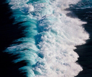 sea, waves, and ocean image