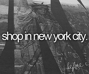 new york, shop, and shopping image
