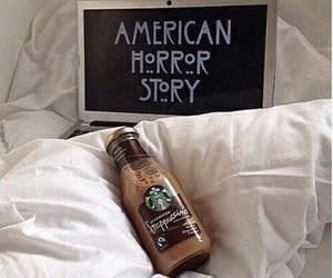 starbucks, american horror story, and ahs image