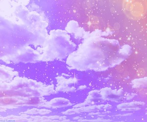 pastel, sky, and clouds image